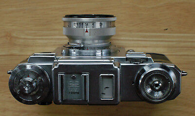 Zeiss Ikon Contax IIIa 35mm Rangefinder Camera with 5cm f2 Sonnar Lens