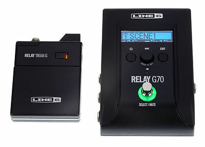 LINE6 Relay G70 Guitar Bass Wireless System NUOVO!!!!!!!
