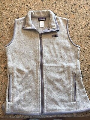 Patagonia Women's Gray Better Sweater Vest Size M