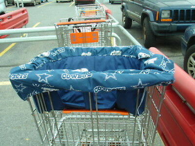 Shopping Cart Padded Cover m/w any fabric that matches my crib bedding sets new