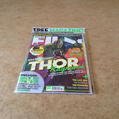 TOTAL FILM NOV 2017 THOR REVIEW + BACK TO THE 80's MAG ROBOCOP GREMLINS & MORE