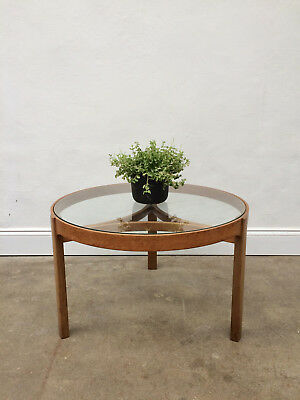 Vintage Nathan Astro Round Coffee Teak Table. Retro Danish G Plan. DELIVERY