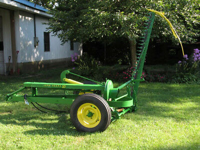 John Deere 37 sickle mower with 7ft cutter bar in very good condition
