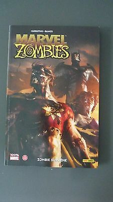 Marvel Zombies  N° 8 -  100 % Marvel -Eo - Rare -Panini  Comme Neuf
