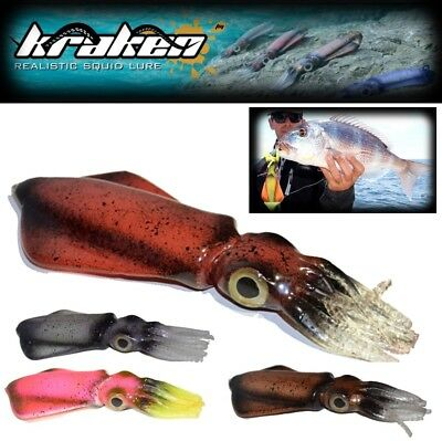 Bull Shark Kraken Lifelike Squid Lure