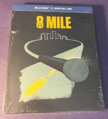 8 Mile [ Limited STEELBOOK Edition ] (Blu-ray Disc)  NEW