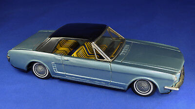 Blechauto / Tin Car: Bandai Ford Mustand, 1960-er / -ies, Friktion / Friction