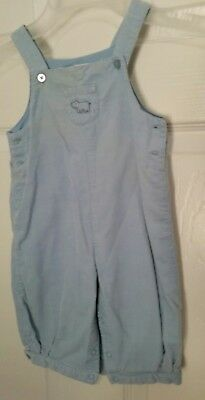 JANIE AND JACK Layette Baby Boy Plaid Overalls Size 3-6 Months