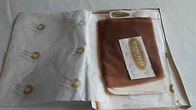 Never Used Two Pair Vintage Woodcrest Cameo Stockings With Face Powder Finish