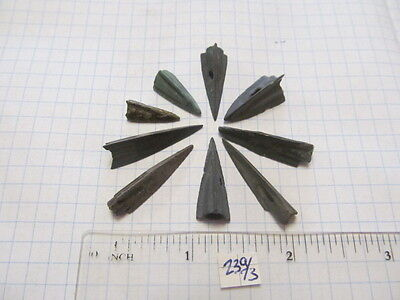 Ancient bronze Scythian tips 5-2 century BC №239/3.