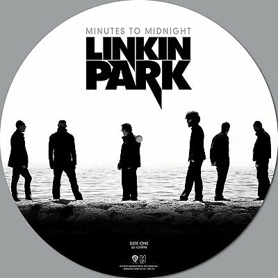Linkin Park 'Minutes To Midnight' Picture Disc Vinyl - NEW (Out October 13) disk