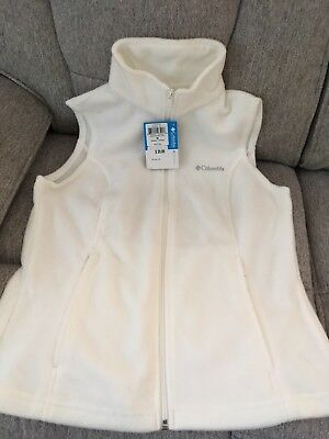Columbia Women's Button Springs Vest Medium New With Tags Fleece