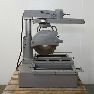 """Delta Rockwell 33-400 14"""" Radial Arm Saw - 3 hp - 1 phase"""