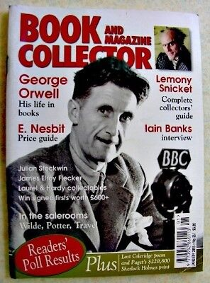 BOOK & MAGAZINE COLLECTOR Jan 2005 251 Iain Banks Orwell E Nesbit Lemony Snicket