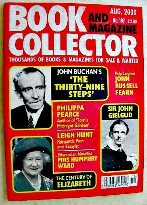 BOOK & MAGAZINE COLLECTOR Aug 2000 197 John Buchan Russell Fearn Philippa Pearce