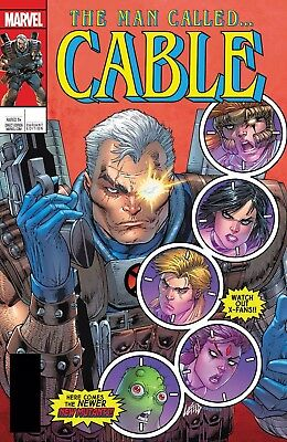 Cable #150 Rob Liefeld 3D Lenticular Homage Variant Marvel Legacy Presale 10/18