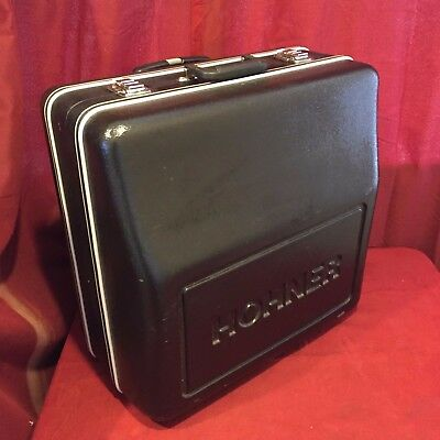 "LH9 - Used Accordion Hard Case Hohner Trolley 22"" x 22"" x 13"" Very Good"