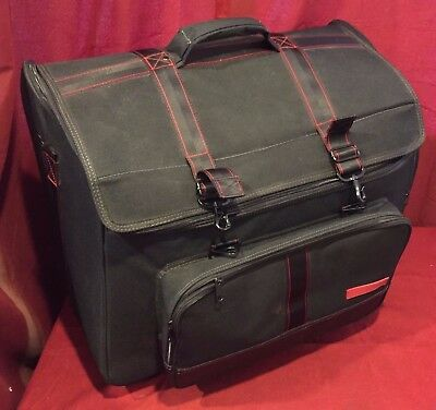 "LH8 - Used Accordion Trolley Soft Case Gig Bag with Wheels 24"" x 16"" x 19"" Good"