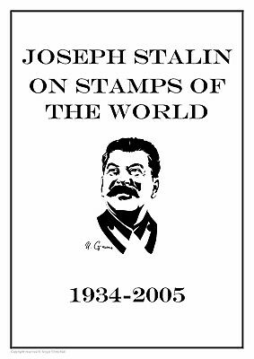 Joseph Stalin On Stamps Of The World 1934-2005 Pdf (Digital)  Stamp Album Pages