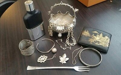 vintage antique silver