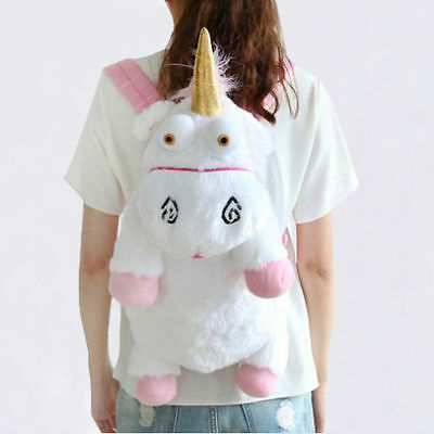Sac a dos Licorne Cartable Peluche Unicorn backpack 55cm Moi, moche et méchant