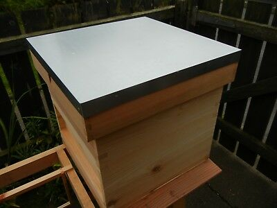 1 National Bee Hive Flat Roof, Seconds, Assembled.