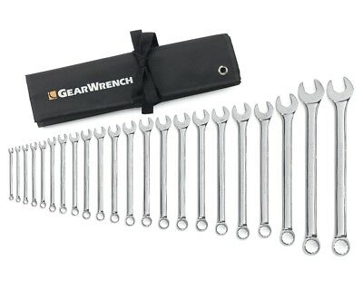 Gearwrench 81916 22pc 12pt Combination Wrench Set Non-Ratcheting 6-24,27,30,32mm