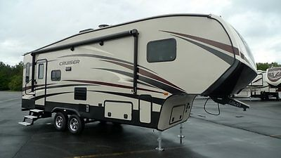 new 2017 cruiser aire 25rl fifth wheel half ton towable 1322 pin weight 7206 dry