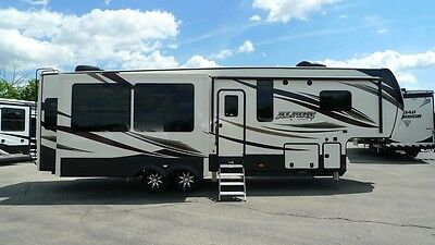 2018 keystone alpine 3401rs fifth wheel camper rv luxury unit summer sale
