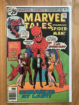 Marvel Comics: Marvel Tales starring Spider-man #68 – Fine June 1976  Stan Lee