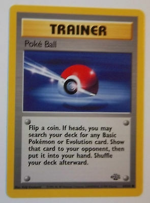 POKEMON JUNGLE  SET OF COMMON  CARDS  49 to 64