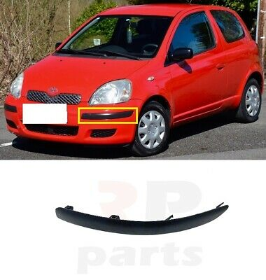 Front Bumper Primed Toyota Yaris 2003-2005 Brand New High Quality