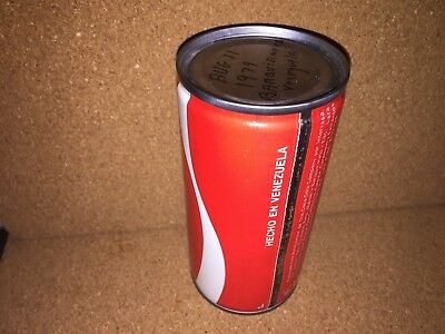 Coca Cola coke can Venezuela test