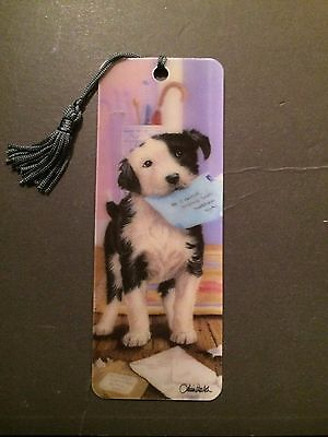 3D LiveLife Bookmark - Dogs