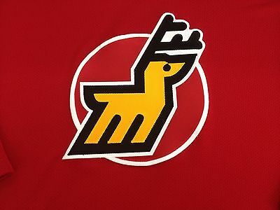 Vintage Michigan Stags WHA hockey crest patch Circa 1974-75