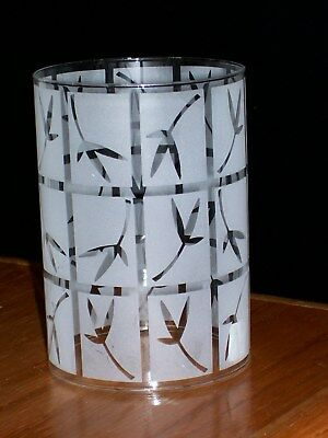 Partylite Bamboo Lantern Sconce Replacement Glass Shade