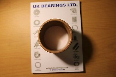 Plain OILITE bronze bushes - METRIC SIZES -  QTY's as shown - Post inc. to UK