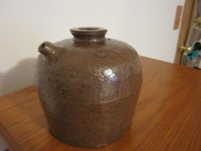 Antique Chinese Glazed Soy Sauce Jug Stoneware Nice Condition