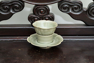 Song Style Chinese Antique Yaozhou Ware Tea Cup PHK532