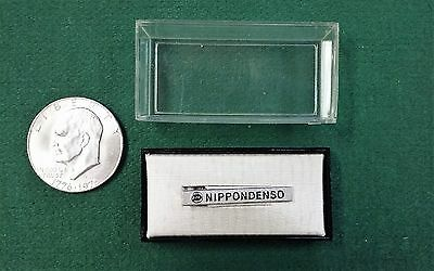 Vintage - Nippondenso - Spark Plugs Tie Clasp - New - Motorcycles - Rare