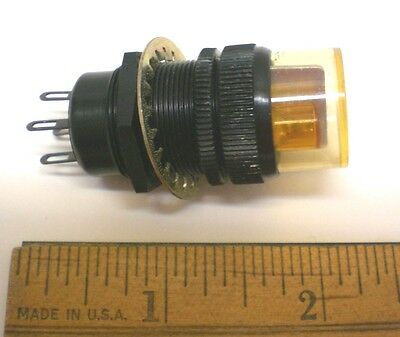 1 Rare Dialight Pilot Lamp Assembly for Dual Data Lamps, Made for Military, USA
