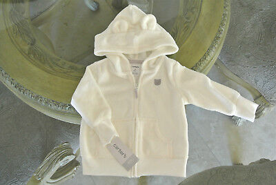 CARTER'S Infant Baby Boy Girl 6 Months Jacket Hoodie Pockets Zipper Front NWT!