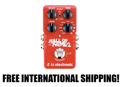 TC Electronic Hall of Fame 2 Reverb FREE INTERNATIONAL SHIPPING