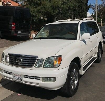 2006 Lexus LX  2006 Lexus LX470 V8 Engine 4WD 4 Wheel Drive Leather Seat Tow Bar Navigation SUV
