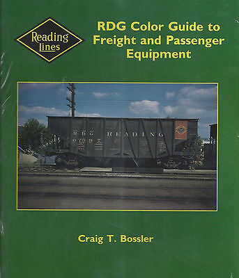 RDG Color Guide to Freight & Passenger Equipment - Out of Print NEW READING BOOK