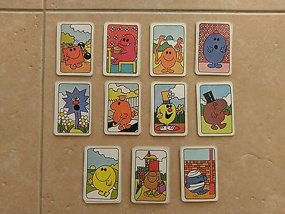 """""""Michael Stanfield"""" """"Mr Men Picture Play Cards 1970's"""