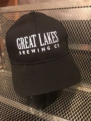 GREAT LAKES BREWING Cleveland OHIO ~ NEW ~ Trucker Beer HAT Cap