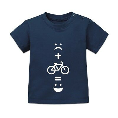 Cycling = Happiness Baby T-Shirt
