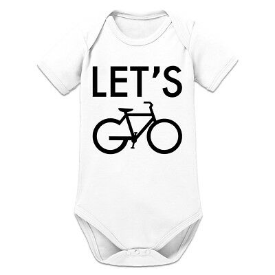 Let's Go Cycling Baby Strampler