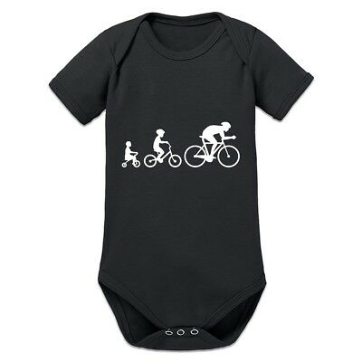 Evolution Of A Cyclist Baby Strampler